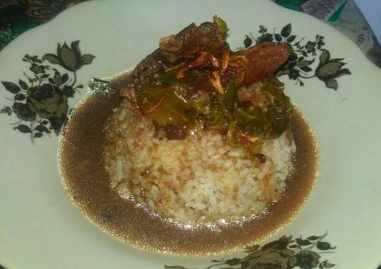 Cara Mudah memasak Nasi pindang kudus yang menggugah selera