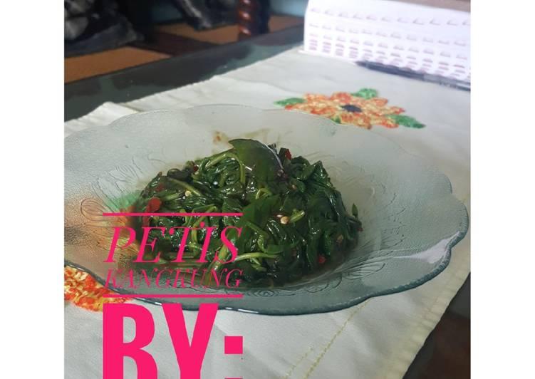 Resep membuat Petis Kangkung ala resto