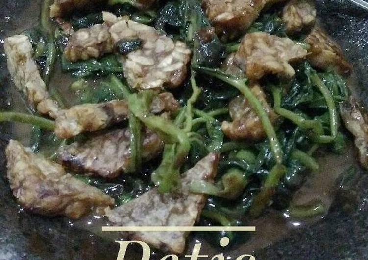 Resep memasak Petis Kangkung khas Semarangan sedap