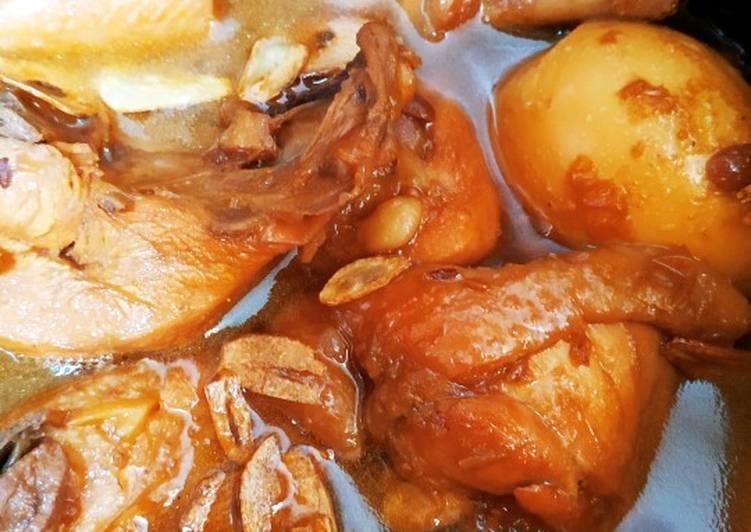 Cara Mudah mengolah Ayam kuah tauco/ swikee ayam mudah lezat