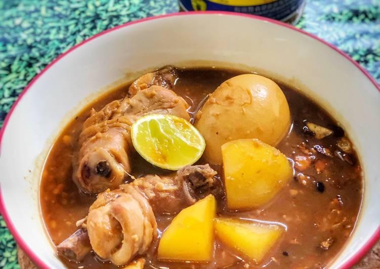 Resep: Sup Ayam Tauco (model swike) ala Tiger Kitchen istimewa