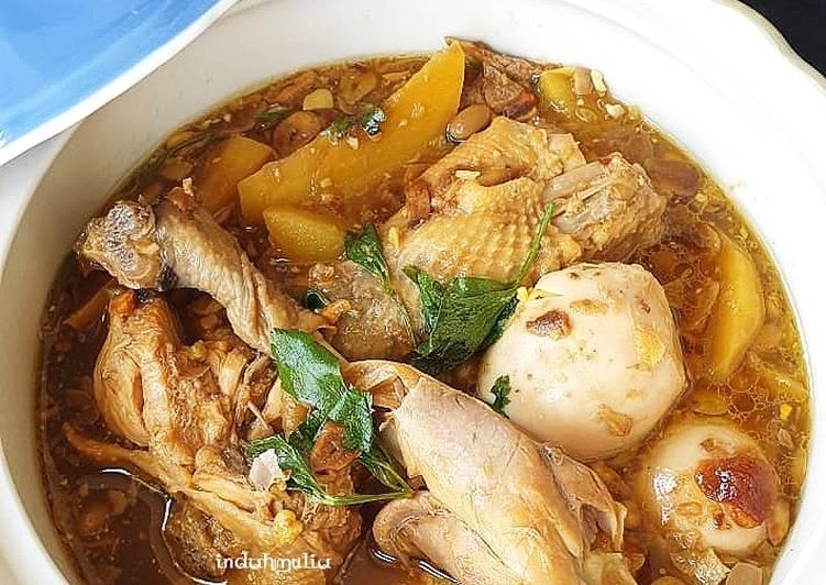 Resep: Swike Ayam / Ayam kuah tauco yang menggugah selera