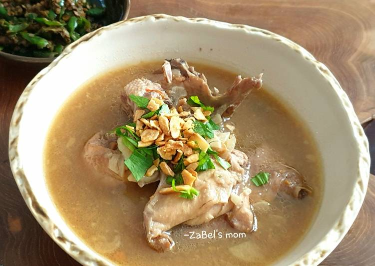Swike Ayam (Ayam Kuah Tauco)