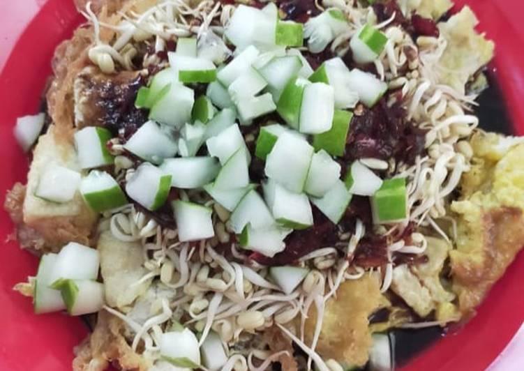 Resep memasak Tahu Gimbal Petis yang menggugah selera