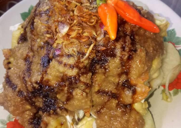 Resep: Tahu gimbal komplit, makanan khas Semarang... 😋😋😋 yang menggugah selera