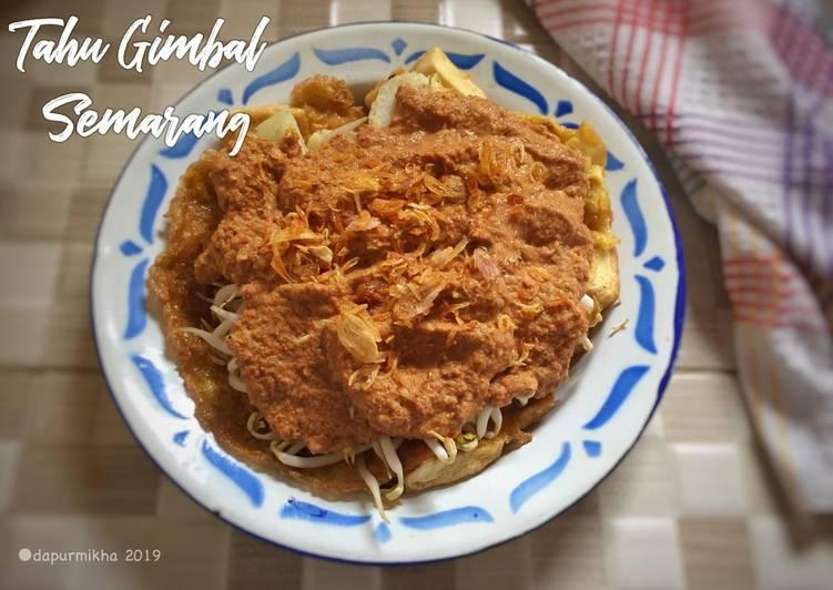 Cara memasak Tahu Gimbal Semarang yang bikin ketagihan