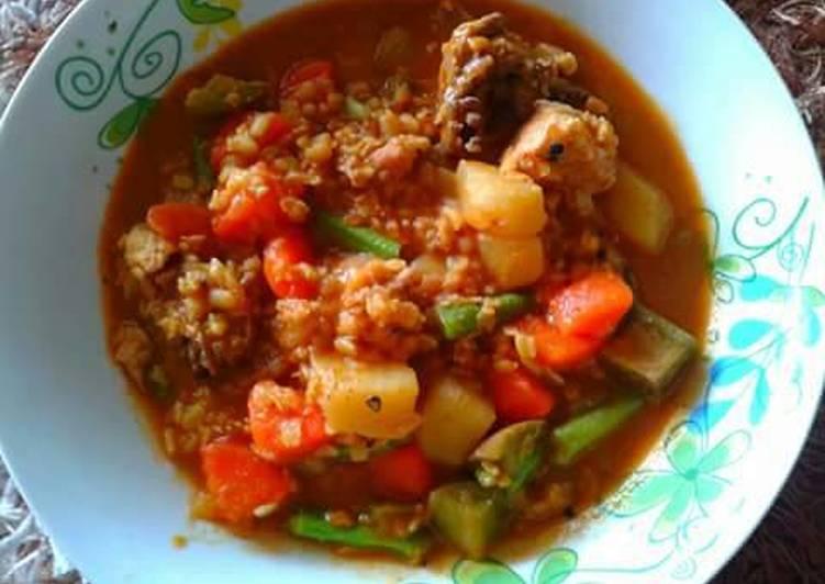 Dalca (vegie curry)