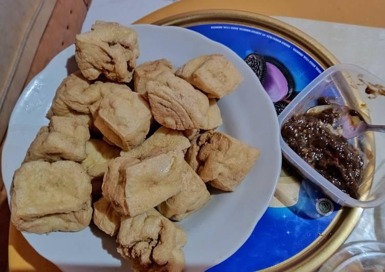 Resep memasak Tahu petis pedas alun-alun madiun enak
