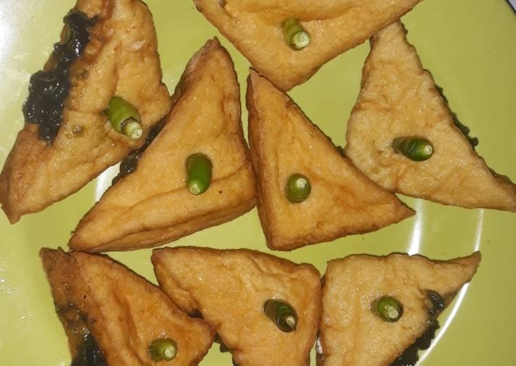 Cara Mudah memasak Tahu petis (gorengan khas wong semarang) ala resto