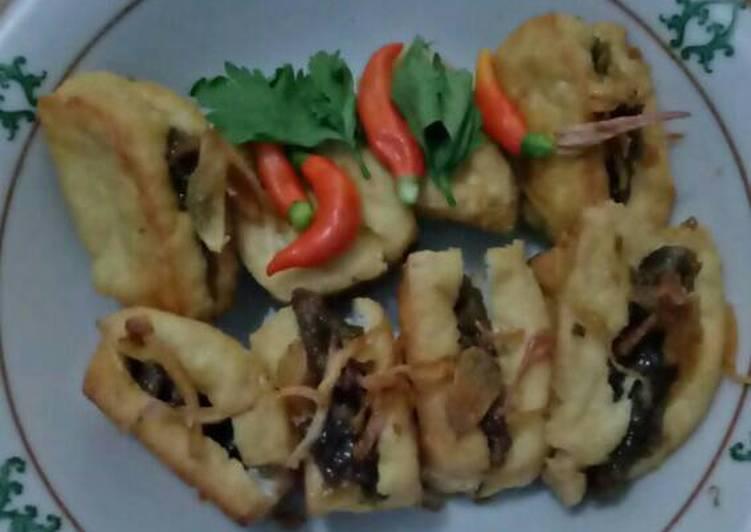 Resep memasak Tahu petis simpel enak