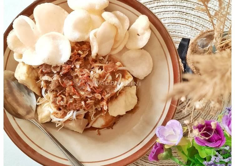 Cara Mudah memasak Tahu Bumbu Resep Ibu Mertua (tanpa petis) istimewa