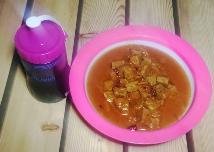 Resep mengolah Ponggol Tegal (sambal goreng tempe kecap)