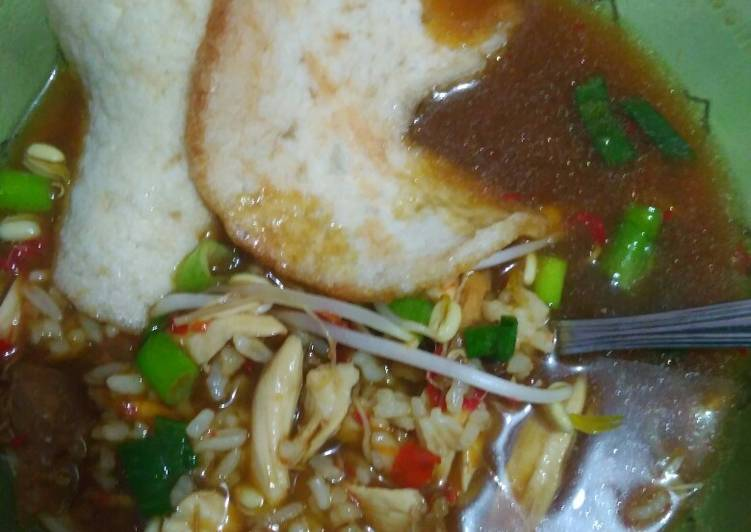 Resep: Soto tauco khas tegal lezat