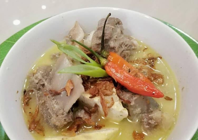 Resep: Opor daging iga khas Tegal yang menggugah selera