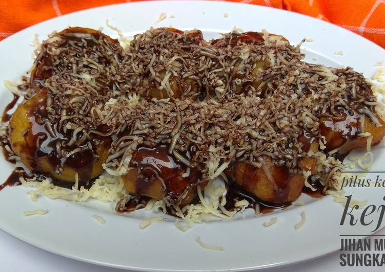 Cara mengolah 4. pilus kentang keju #semarak_kentangkispesonamu yang menggugah selera