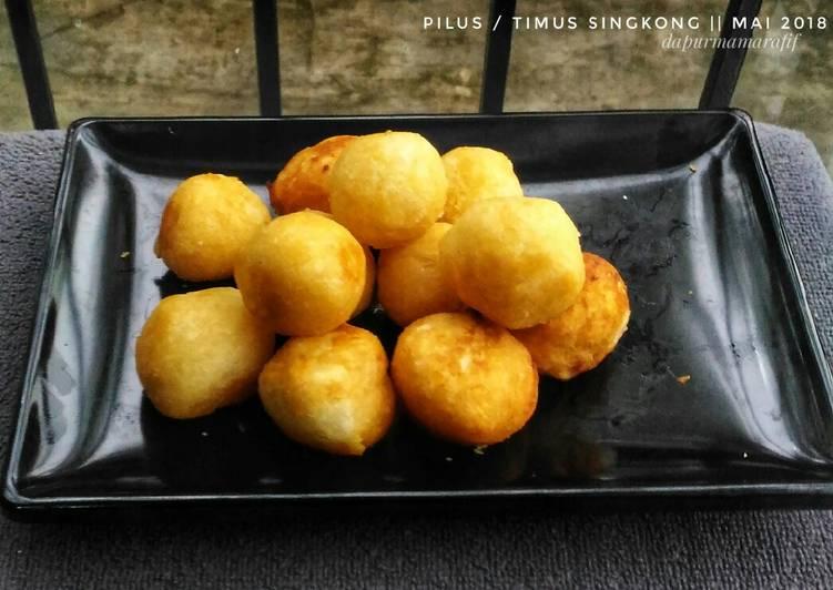 Resep: Pilus / timus singkong #pekaninspirasi ala resto