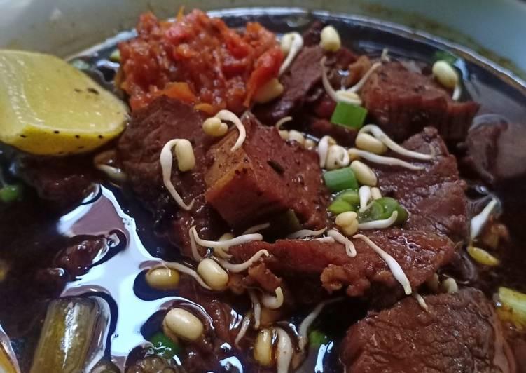 Resep: Rawon daging sedap