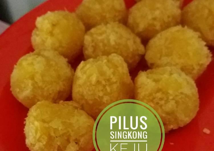 Resep: Pilus singkong keju #postingrame2_gorengan enak