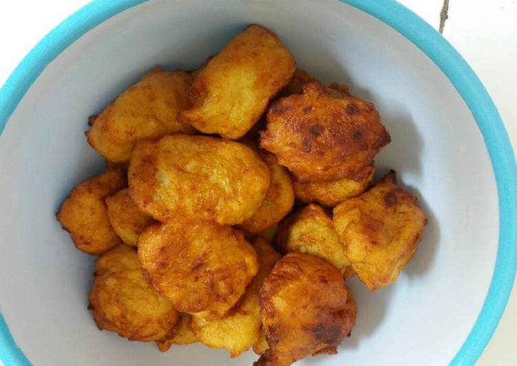 Cara memasak Pilus (gorengan madura) ala resto