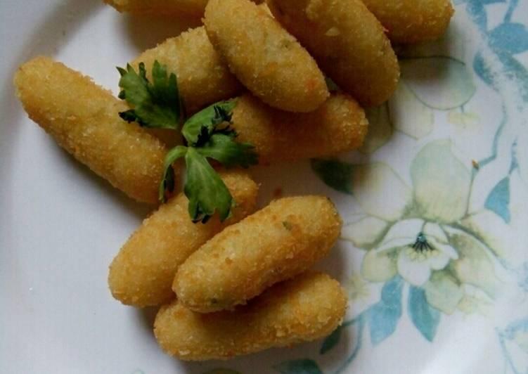 Resep: Pilus kentang yang bikin ketagihan