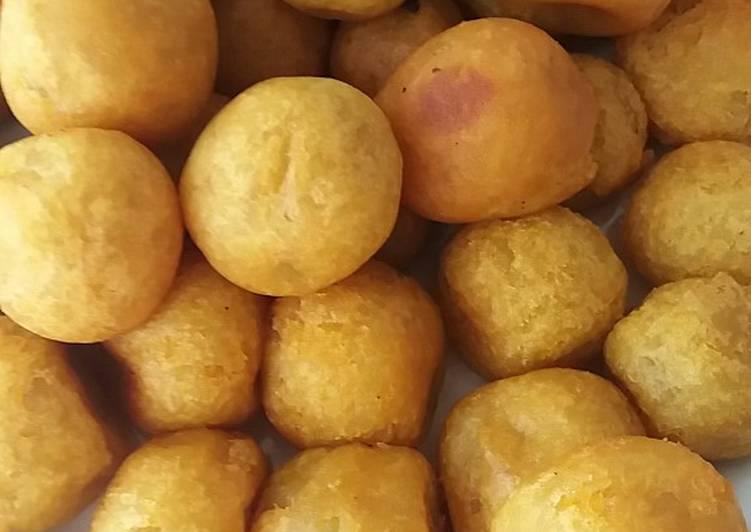 Resep: Pilus ubi yang menggugah selera