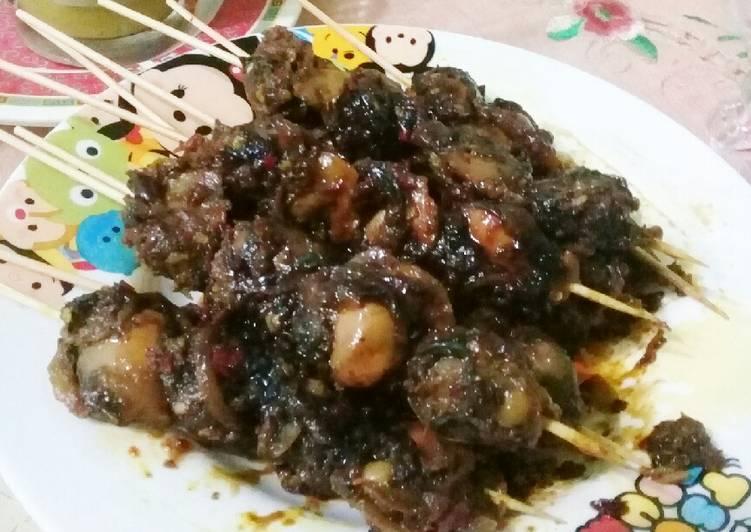 Resep memasak Serang (sate kerang) lezat