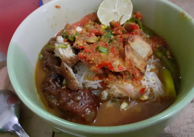 Resep: Soto tauco pekalongan lezat