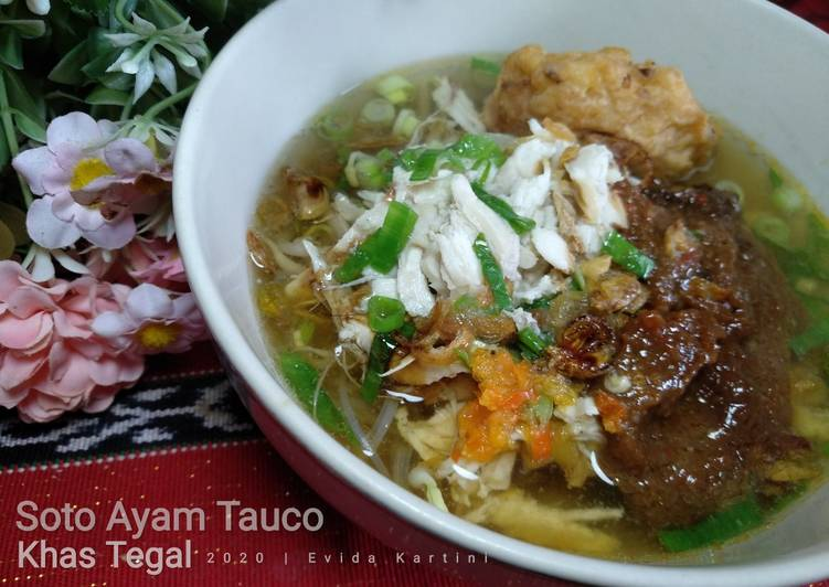 Resep: Soto Ayam Tauco khas Tegal enak