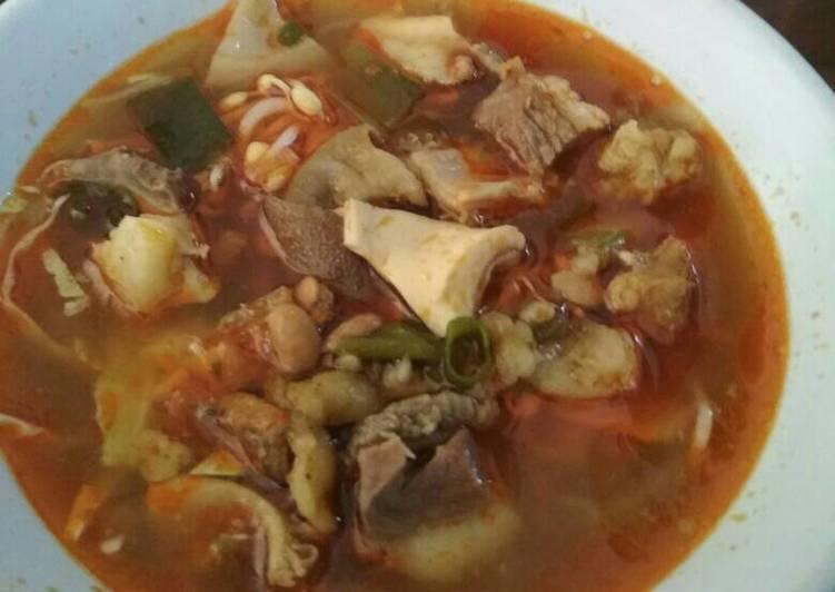 Cara memasak Soto tauto #KitaBerbagi ala resto