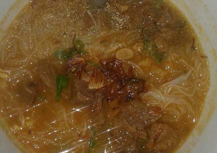 Cara memasak Taoto Pekalongan(soto khas Pekalongan) enak