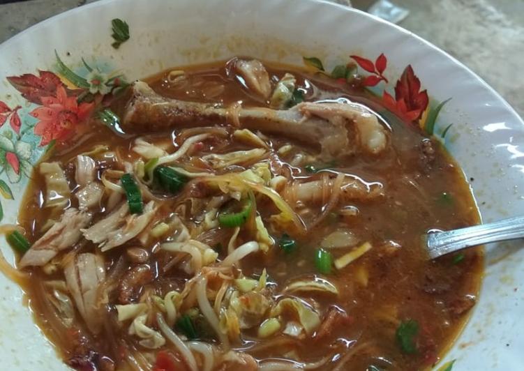 Cara Mudah memasak Soto mama anti jejeg ala ala waduk gajah mungkur yang bikin ketagihan