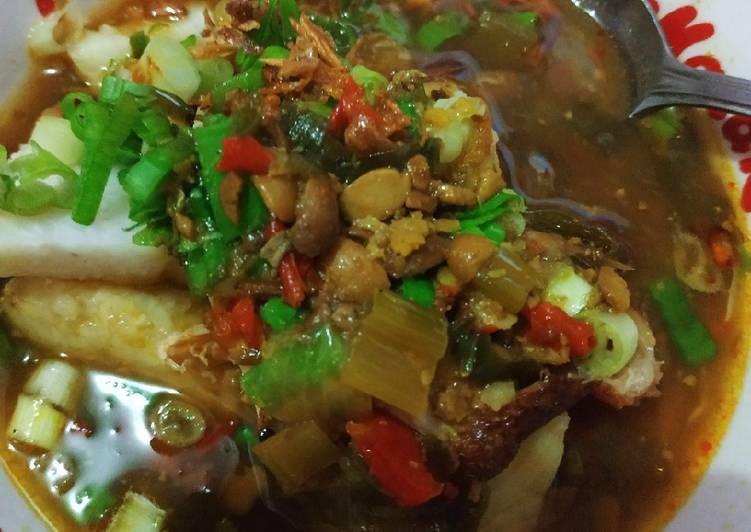 Resep: Soto tauco tegal 🍲 lezat
