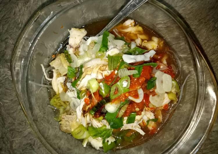 Resep mengolah Soto tauco khas tegal ala resto