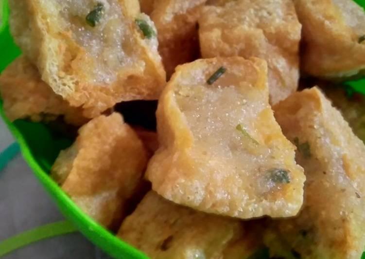 Resep membuat Tahu aci khas Tegal lezat