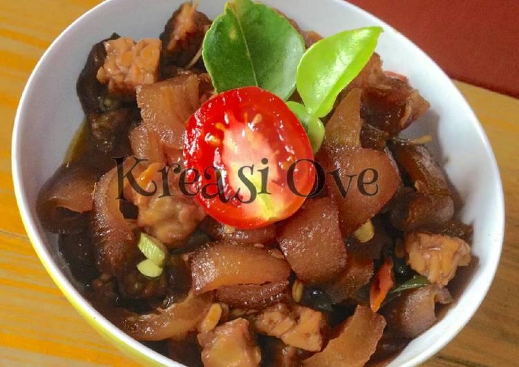 Resep: Oseng tempe cecek lombok ale yang menggugah selera