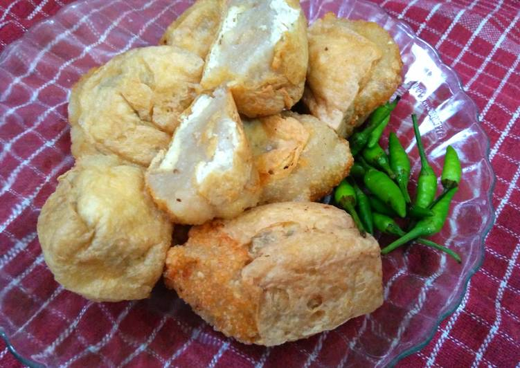 Tahu aci goreng (step by step)