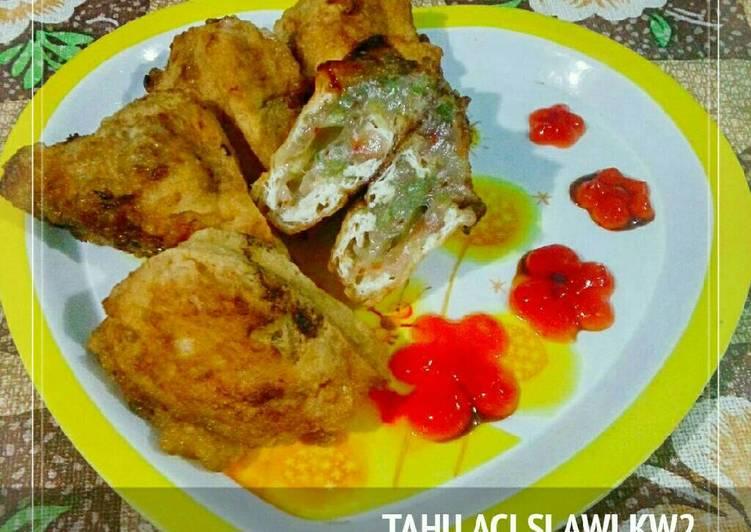 Cara Mudah memasak Tahu aci slawi kw#2 enak