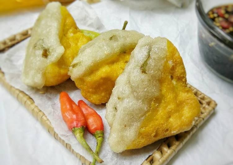 Cara memasak Tahu Aci / tahu pletok khas tegal #pr_jajanandaerah sedap