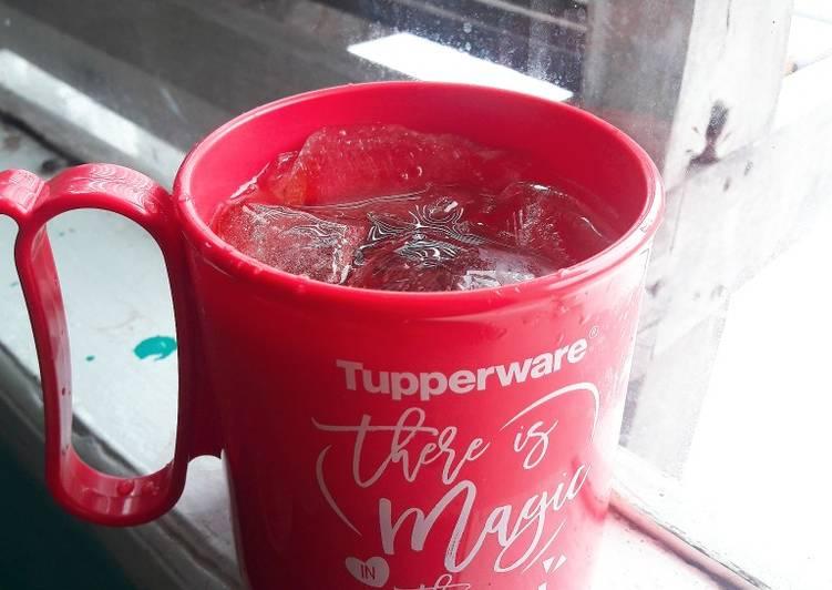 Resep: Es teh segar#BikinRamadanBerkesan yang menggugah selera