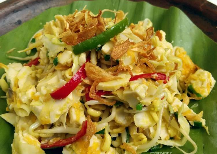 Resep: Tumis Sayur dan Putih Telur Asin Brebes istimewa