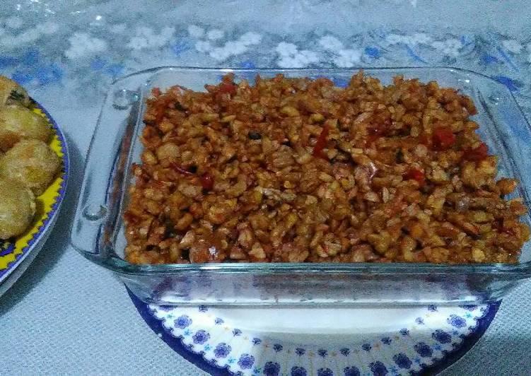 Resep: Kering tempe khas kebumen lezat