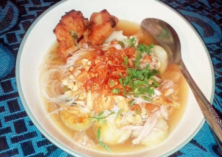 Cara memasak Soto Gombong Istimewa ala resto