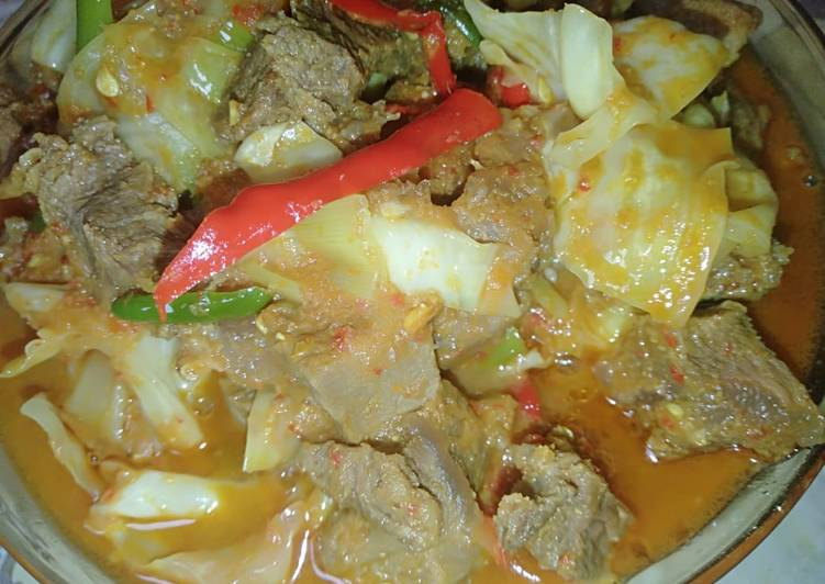 Resep: Tongseng daging ala mbak denok ala resto