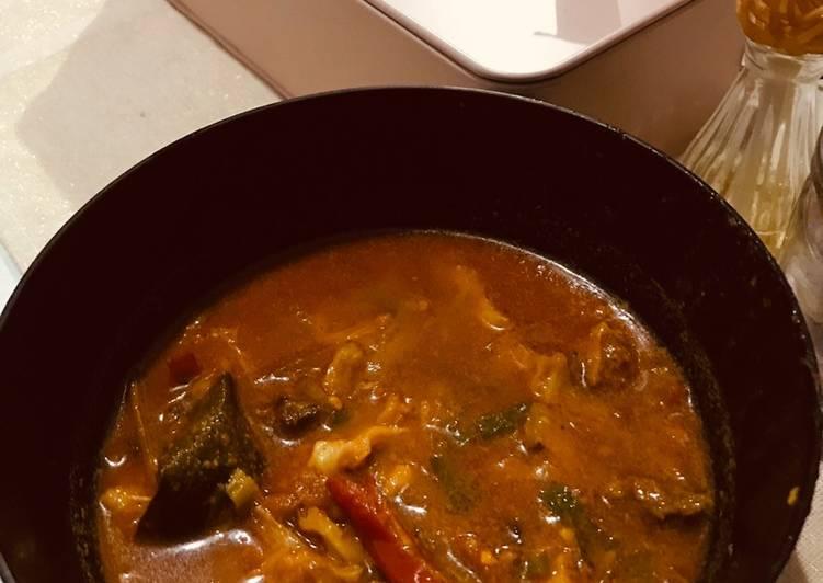 Resep: Tongseng Daging Sapi (fiber cream) ala resto