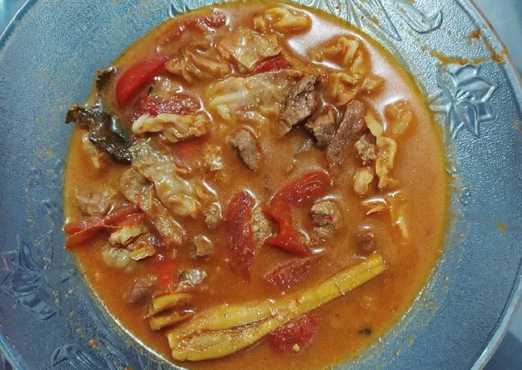 Resep mengolah Tongseng Daging ala resto