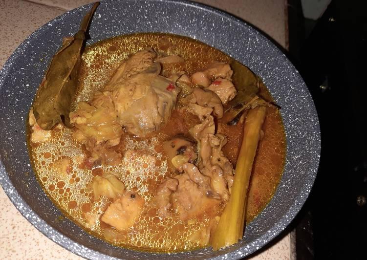 Cara memasak Tongseng ayam simple tanpa santan