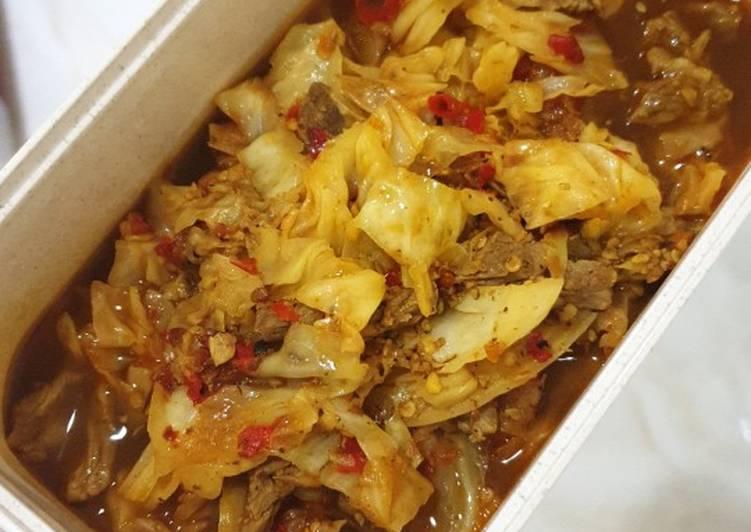 Cara memasak Tongseng Sapi