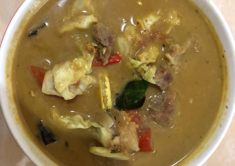 Cara membuat Tongseng daging sapi istimewa