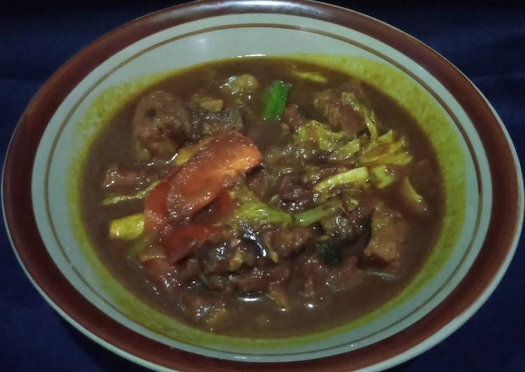 32.tongseng daging sapi