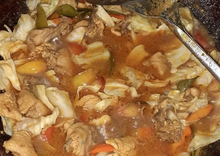 Resep: Tongseng ayam yang menggugah selera